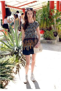 Laura Love at Coachella