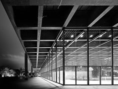 Neue Nationalgalerie. A museum should be as beautiful as whatever is inside it. This one, designed by Mies van der Rohe and opened in 1968, fits the bill. The museum houses 20th century art in an airy, light-filled space.