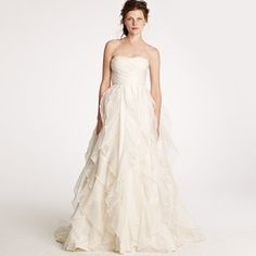 Pretty-J Crew wedding dress