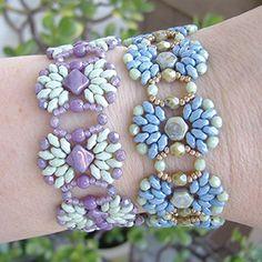 Fanfare Bracelet by Debbie Roberti $4USD  ~ Seed Bead Tutorials