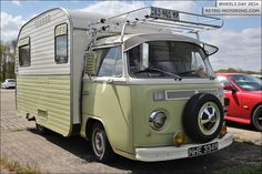 #VW Type 2 Bay Window Caravan MHE334M