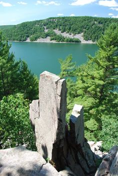 This One Hike In Wisconsin Will Give You An Unforgettable Experience   Devil's Lake State Park near Baraboo, Wisconsin's largest state park   There are 29 miles of hiking trails for people of all ages and abilities.
