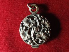 Antique slide locket of Nemours (France)