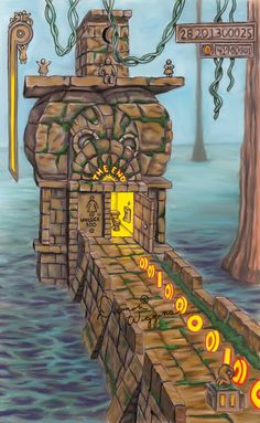 how to build a lego temple run
