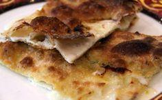 il gusto e il giusto    : Focaccia al formaggio di Recco e monte di Portofin...
