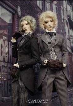 19th c. English Gentlemen's Fashions