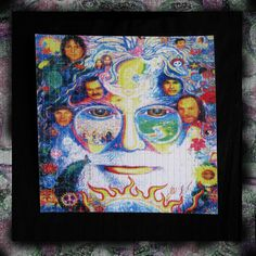 Blotter Art / Jerry Garcia and Friends / Grateful Dead by WittyStickers