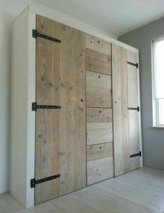 Pantry and laundry wall