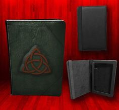 Kindle Fire Charmed Book of Shadows Spell Book Leather Case | eBay