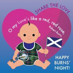 Happy Burns' Night!
