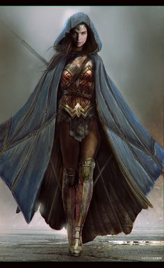 ArtStation - Wonder Woman Concept 1, Kelton Cram