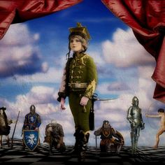 """""""Courage of all things, is the first quality of a warrior.""""  Carl VonClausewitz Elements:  Miles Beyond The Moon, Itkupilli Imagenarium and Holliewood Studios @ Mischief Circus."""
