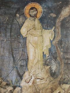 Manuel Panselinos,from the holy church of the Protaton at Karyes, Holy Mountain Athos.