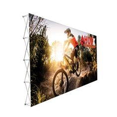 20ft x10ft Straight RPL Fabric Pop Up Display NO Endcaps is the light version of our Ready Pop Fabric Pop Up Display. RPL displays reaches a height of 10 feet! 10ft x 10ft RPL Fabric Pop Up is the perfect display on the go. It's ready in minutes.#Tradeshow#popup#display#backwall#backdrop#fabric#Custom#exhibit#ideas#wall#expo#exposition#readypop#trade#show