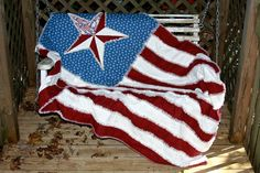 Check out this item in my Etsy shop https://www.etsy.com/listing/208410972/americana-reversible-flag-rag