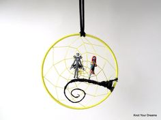 Nightmare before Christmas dream catcher Jack by KnotYourDreams