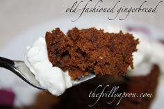 [Recipe] Old-Fashioned Gingerbread @Tara MacKenzie