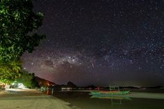 The dazzling Milky Way overhead at El Nido. | 33 Breathtaking Photos That Prove The Philippines Is Paradise