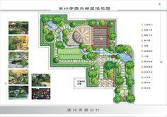 little garden plan简单平面
