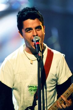 young Billie Joe Armstrong from Green Day