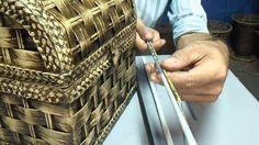 cestaria com jornal   medidas de canudos   MODULO 11