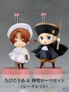 Hetalia Axis Powers - Holy Roman Empire and ChibiTalia