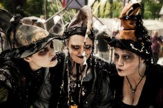 FIRST PLACE fantasy: The Witches of Bristol entranced by Conrad the fish   by Steven Bourelle