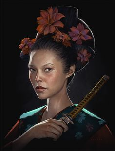 Digital Paintings & Concept Art by Stéphane Wootha Richard - Inspiration Grid Fantasy Portraits, Character Portraits, Character Art, Character Design, Character Ideas, Call Of Cthulhu, Female Character Inspiration, Fantasy Inspiration, Design Inspiration
