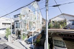 Transparent house in Japan, designed by Sou Fujimoto Architects.