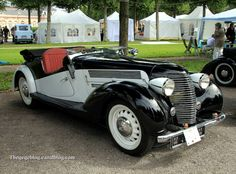 1940 Aero 50 series roadster