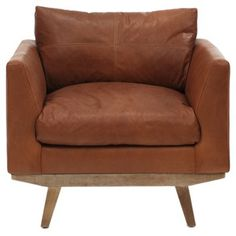 Chairs facing tv. Not right price.  Check out this item at One Kings Lane! Carmel Chair, Tobacco