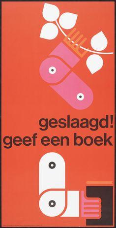 Total Design (Ben Bos & Benno Wissing) — Geslaagd! Geef een boek (1965)