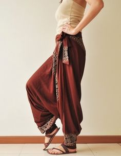 harem pants  -LOVE LOVE LOVE And I don't care who giggles these pants are comfy!!!