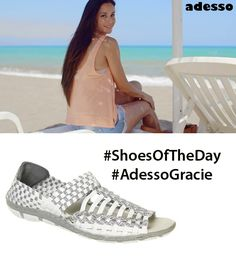 The Adesso Gracie are perfect for everyday wear with a memory-foam like insole and textile heel pad, they are made with comfort in mind & designed for cushioning and support! They bring comfort to every step! Uk Sites, Shoe Company, Leather Sandals, Memory Foam, Adidas Sneakers, Bring It On, Heels, Boots, How To Wear