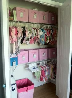 Awesome Kids' Closet Organization Ideas | ComfyDwelling.com #PinoftheDay #awesome #kids #closet #organization #KidsCloset