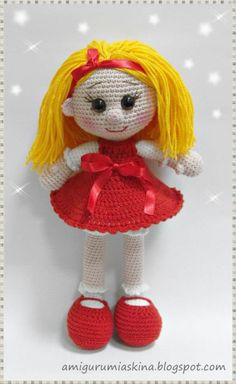 download a FREE pattern every day. ~ Cutest Dolly Patterns on Here! |  Crochet Stash .Tumblr .Com