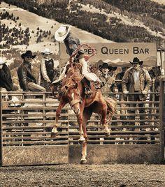 Saddle Bronc by OhBoyd