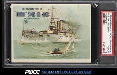 1898 Norman Uncle Sam's Navy U.S. Battleship Illinois PSA 2 GD (PWCC)