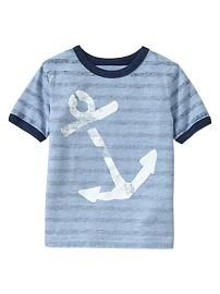 Baby Gap Anchor Tee perfect for my boys:)