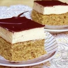 Hungarian Cake, Hungarian Recipes, Smoothie Fruit, Ice Cream Recipes, Sweet Life, Vanilla Cake, Sweet Treats, Cheesecake, Dessert Recipes