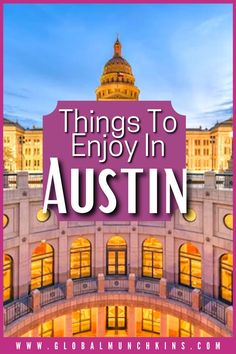 A trip to Austin presents hundreds of opportunities, especially if you bring the kids along. While we had a blast in Houston and San Antonio, Austin was our favorite. With so many things to do, planning out an itinerary can be a bit overwhelming. Luckily, we have some experience in this beautiful city. Austin With Kids, Travel Expert, Universal Orlando, San Antonio, Family Travel, Disneyland, Cruise, Things To Do, California