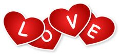 Hearts And Love Sign Stock Photo