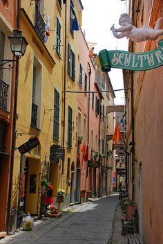 Finalborgo, province of Savona, Liguria region Italy