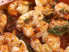 Oven-Roasted Shrimp and Garlic : Food Network
