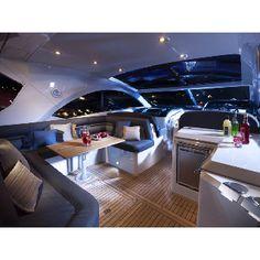 Inside the Sunseeker Predator 54 Best Cruise Ships, Disney Cruise Ships, Luxury Yachts, Luxury Boats, Navigator Of The Seas, Private Yacht, Yacht Interior, Fab Life, Princess Cruises