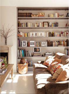 librerias en salones