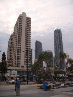 Gold Coast - beautiful skyscapers