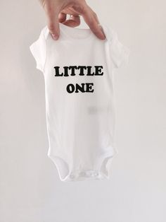 Little One Onesie