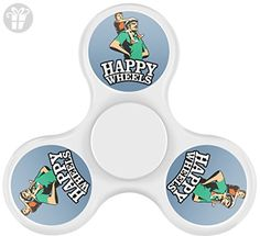 GGOO Happy Wheels Fidget Spinner, Fashion Design and Images Tri-Hands Toy - Fidget spinner (*Amazon Partner-Link)