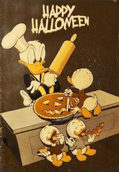 Happy Halloween from Donald Duck